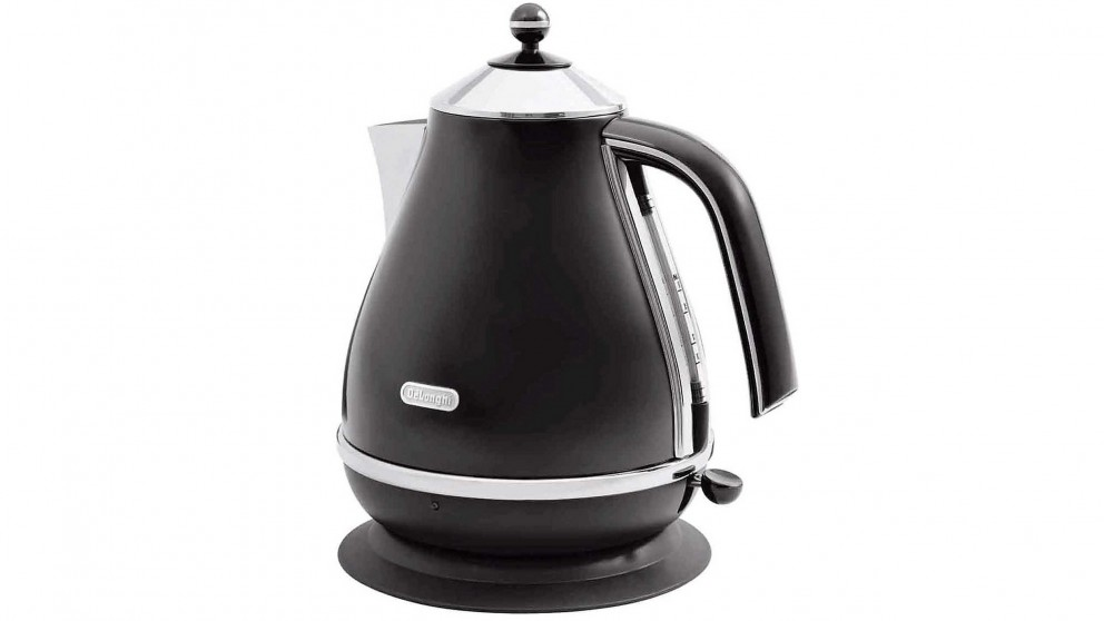 DeLonghi Icona 1.7L Kettle - Black