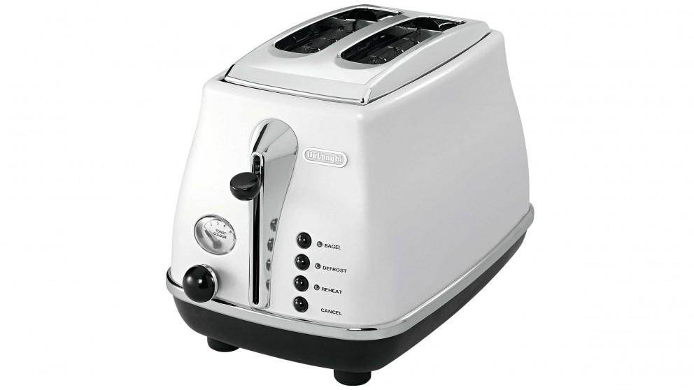 Buy DeLonghi Icona 2 Slice Toaster - White