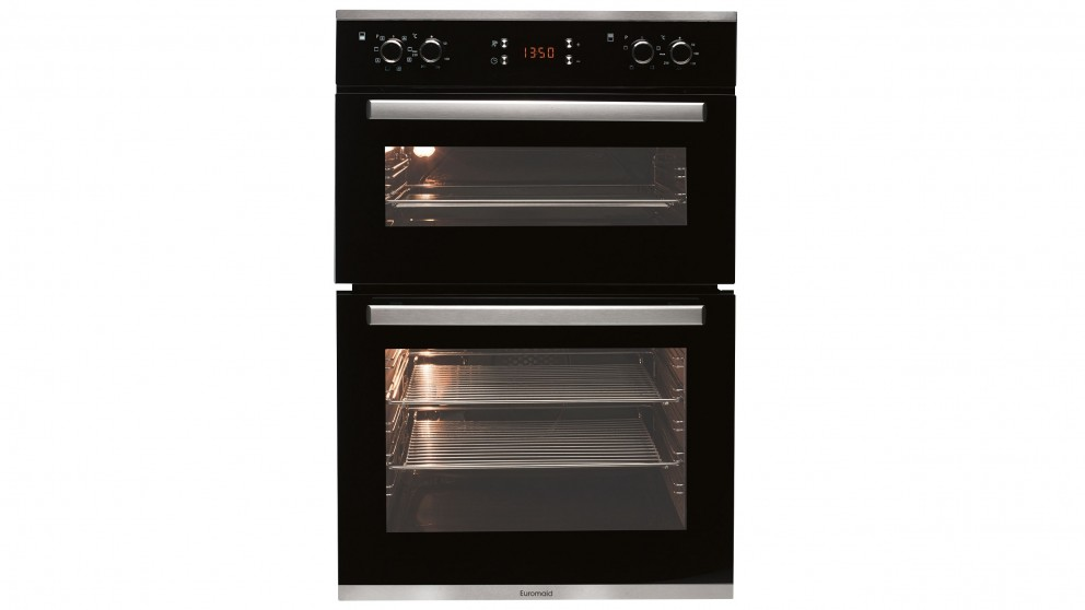 Buy Euromaid 600mm Double Electric Oven Harvey Norman Au