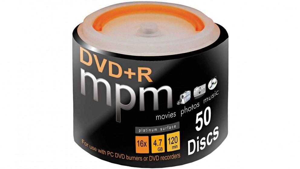 MPM DVD+R 50 Pack