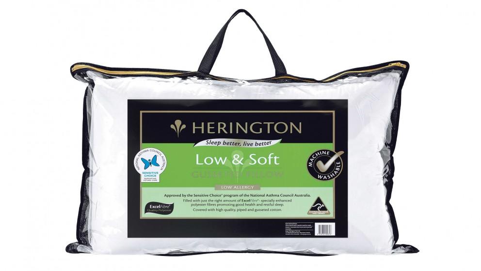 Herington Low & Soft Pillow
