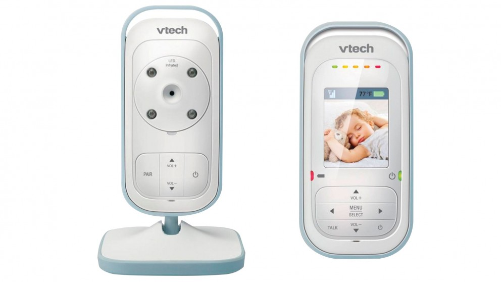 Cheap VTech BM2500 Safe & Sound Colour Video and Audio Baby Monitor ...