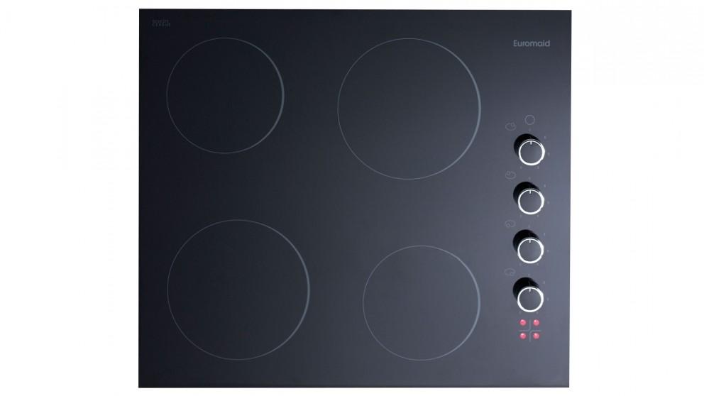 Euromaid 600mm Black Pearl Series Ceramic Cooktop
