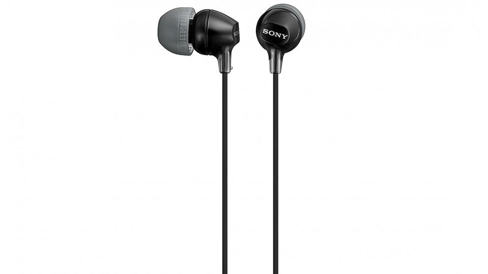 Sony Entry In-Ear Headphones - Black