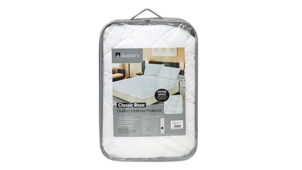Alastair's Classic Rose Super King Mattress Protector