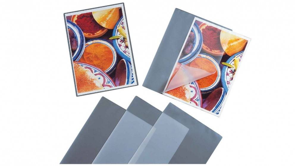 Fellowes A4 Glossy Micron Laminating Pouch - 100 Pack