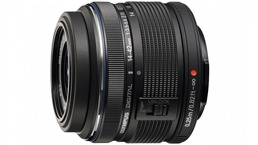 Olympus M ZUIKO 14-42mm 2R Lens - Black