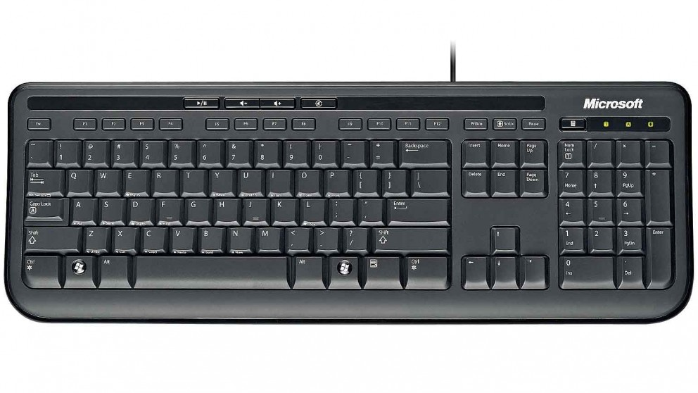 cheap microsoft 600 wired keyboard harvey norman au