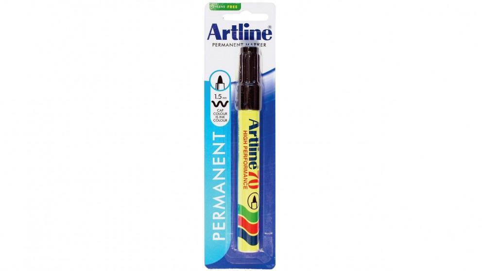 Artline 70 Permanent Marker - Black