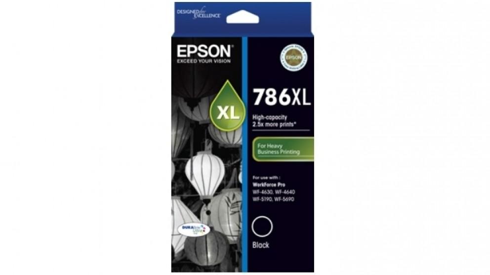 Epson 786XL DURABrite Ink Cartridge - Black