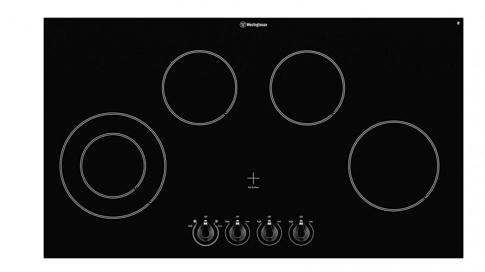 Buy Westinghouse 900mm 5 Zone Knob Control Ceramic Electric Cooktop