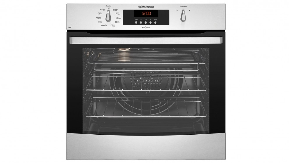 Westinghouse 600mm Multifunction Pyrolytic Oven - Stainless Steel