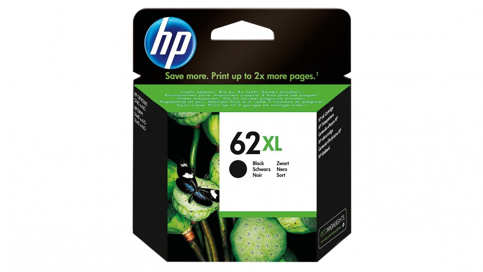 HP 62 XL High Yield Original Ink Cartridge - Black