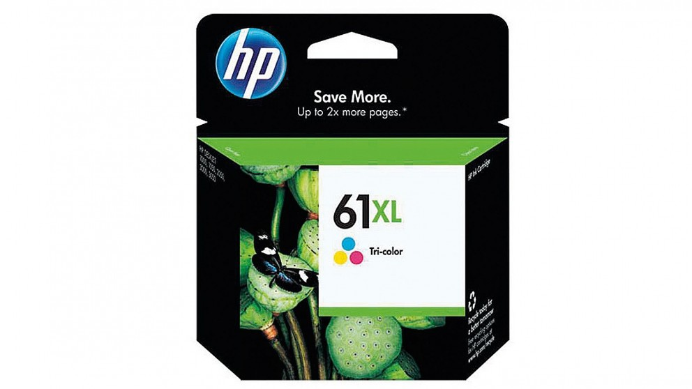 HP 61 XL High Yield Tri-Colour Original Ink Cartridge