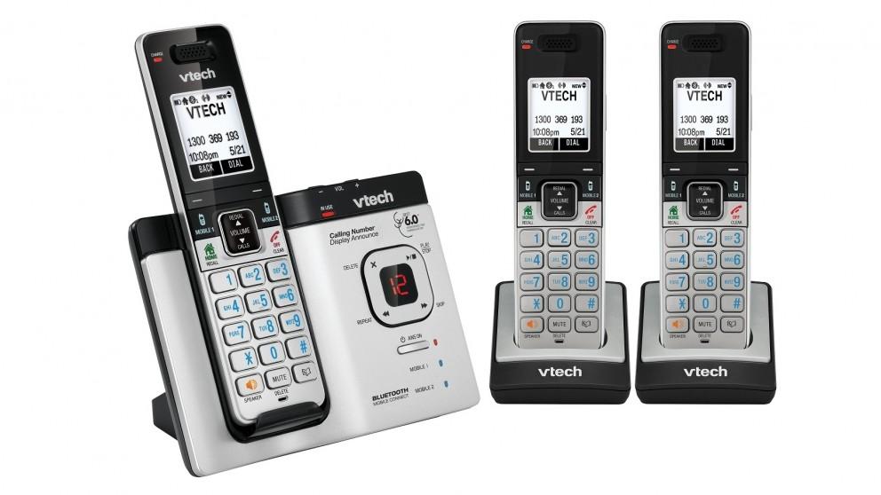 VTech 15750 DECT 6.0 Cordless Phone Triple Pack