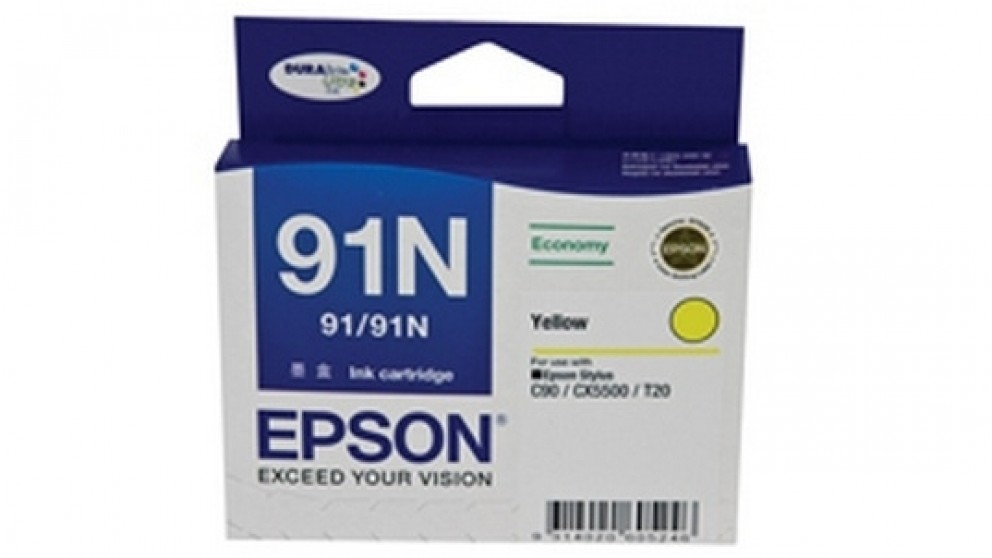 Epson 91N Ink - Yellow