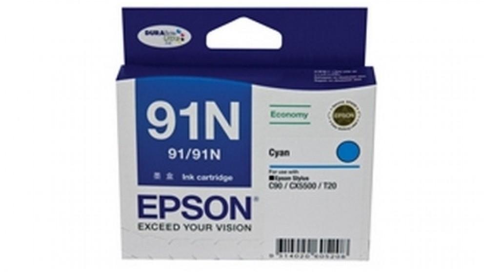 Epson 91N Ink - Cyan