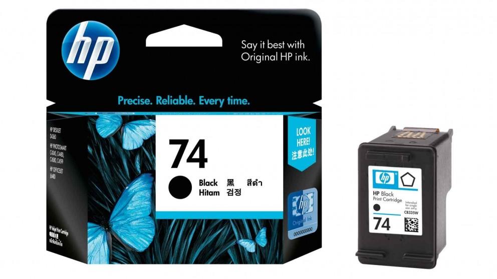 HP 74 Black Ink