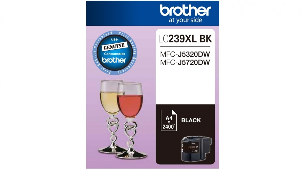 Brother LC239XL Super High Yield Black Ink Cartridge