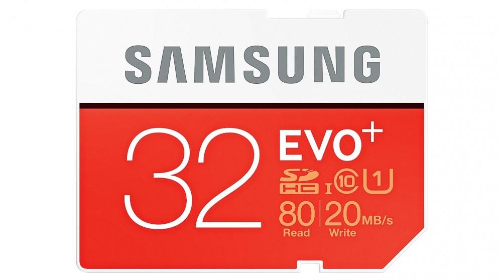 Samsung Evo Plus 32GB SDHC Memory Card