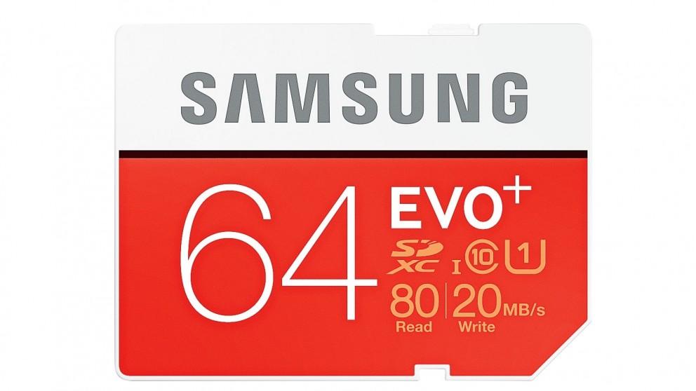 Samsung Evo Plus 64GB SDXC Memory Card