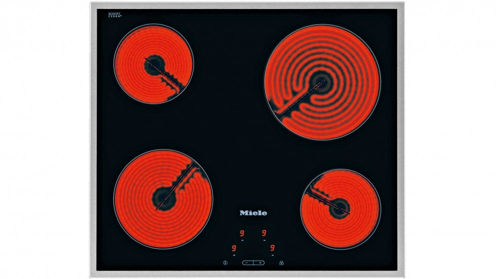 Miele 574mm 4 Zone Ceramic Cooktop