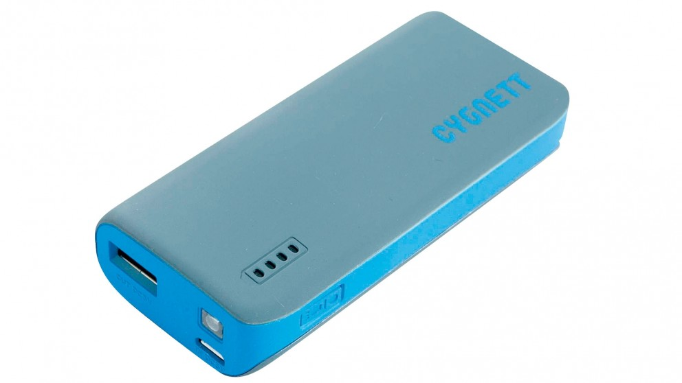 Cygnett ChargeUp Sport 4400mAh Powerbank - Blue