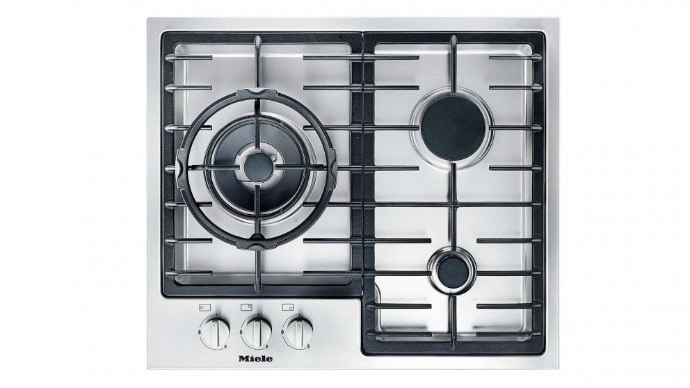 Miele 600mm 3 Burner Low Profile Gas Cooktop