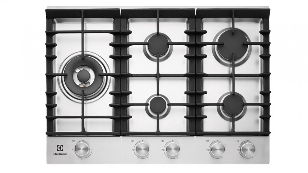 Electrolux 750mm Front Control Cooktop - Stainless Steel