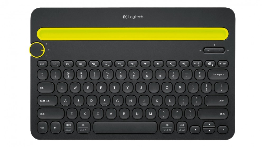 Logitech K480 Bluetooth Keyboard