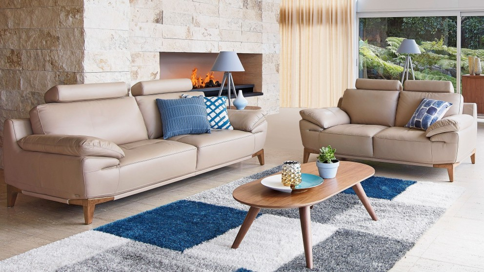 Harveys Living Room Furniture Sophii 3 Seater Leather Sofa