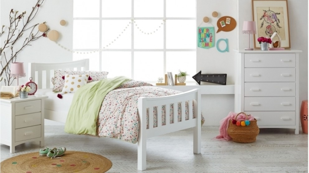 Melody single bed kids beds suites bedroom beds manchester harvey norman australia Home furniture packages australia