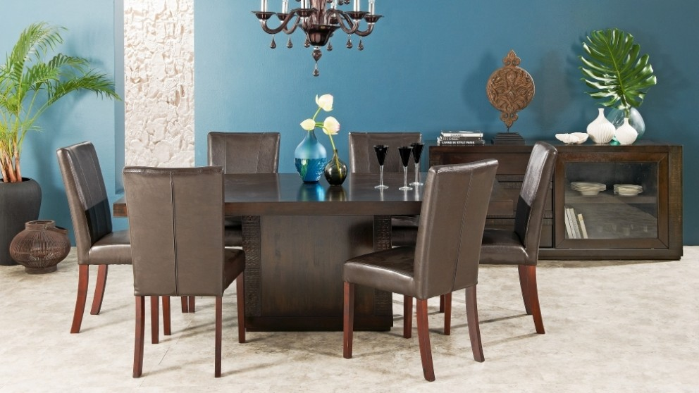 java 7 piece dining setting - dining furniture - dining room