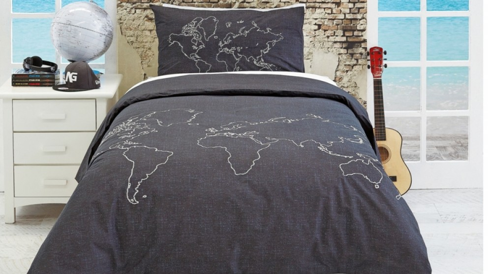 Around The World King Single Quilt Cover Set