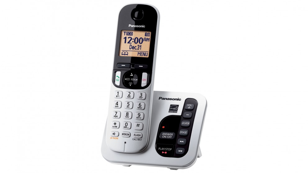 Panasonic KXTGC220ALS Single Handset Cordless Phone