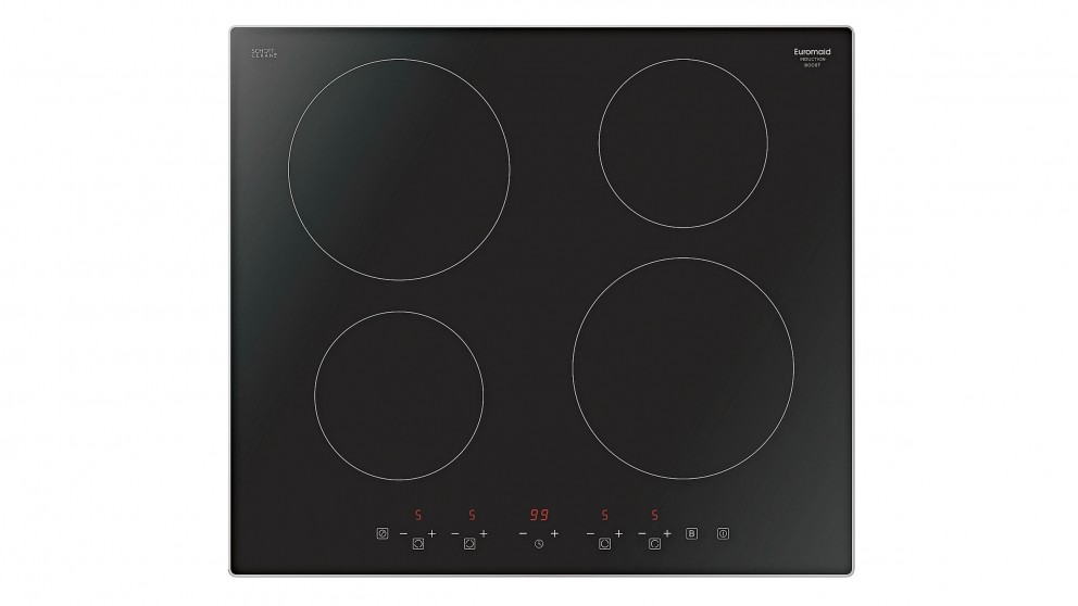 Euromaid 600mm 4 Burner Induction Cooktop