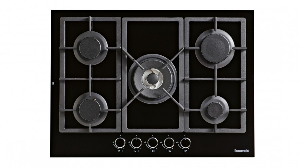 Euromaid 70cm Gas Creamic Cooktop