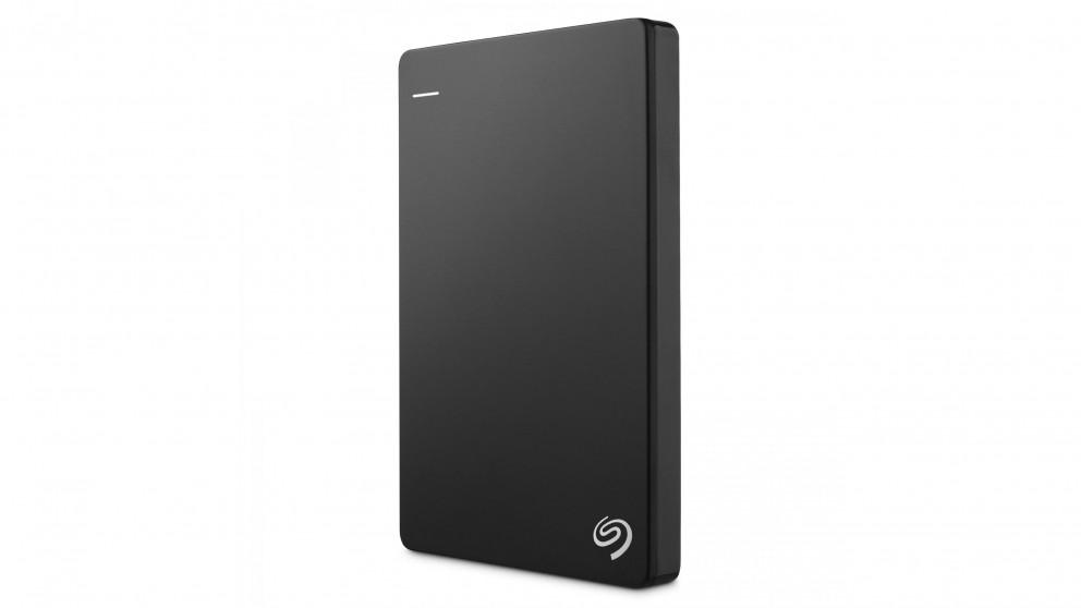 Seagate Backup Plus Slim 2TB Portable Hard Drive - Black