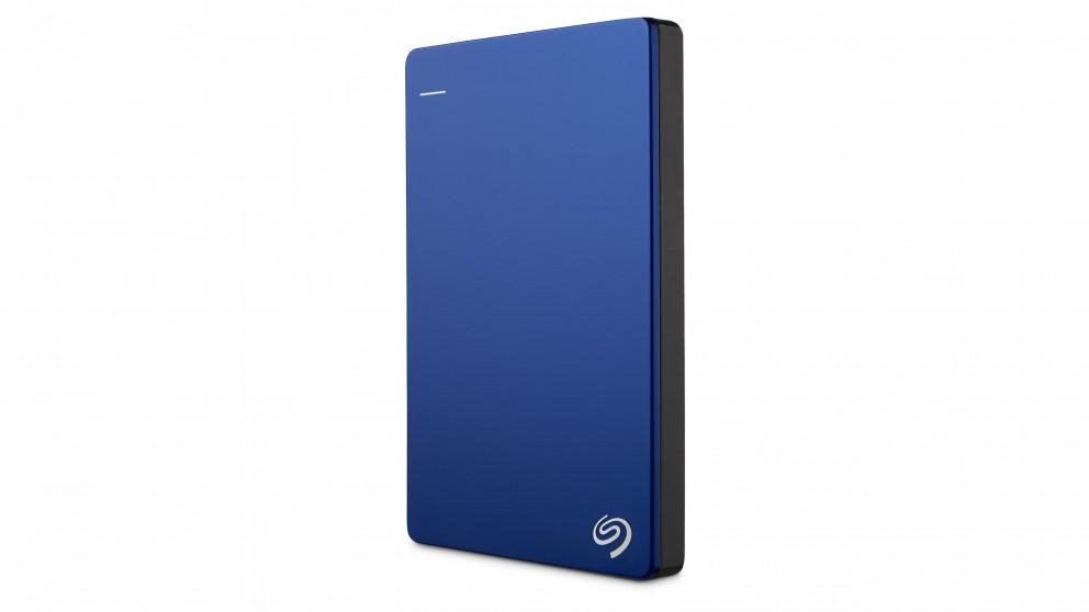Seagate Backup Plus Slim 1TB Portable Hard Drive - Blue