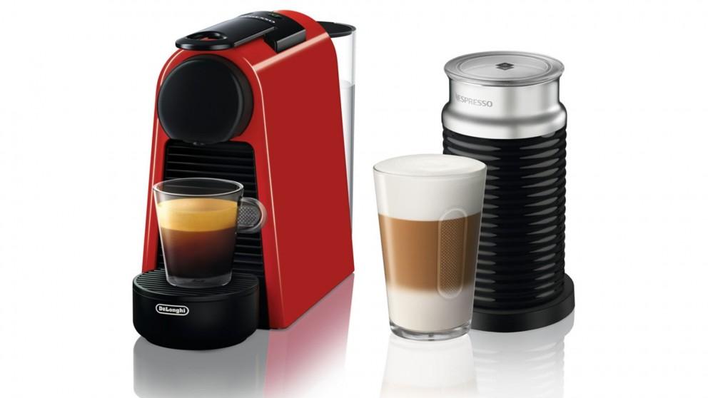 De'Longhi Nespresso Essenza Mini Coffee Machine - Red