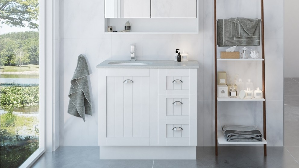 Vanity Bathroom Harvey Norman timberline norfolk 900 floorstanding vanity - bathroom vanities