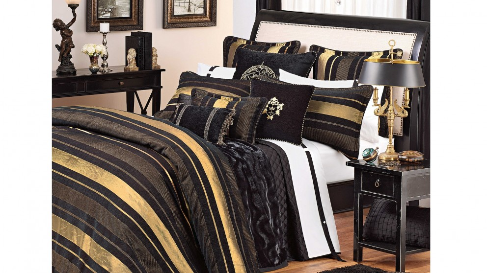 Templeton Black Standard Pillowcase