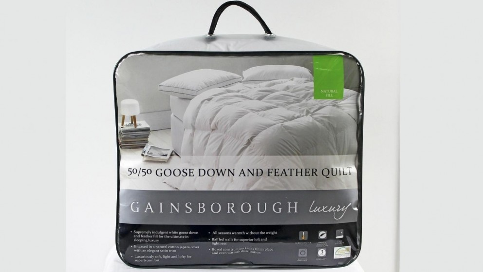 Gainsborough All Seasons 50/50 Goose Down and Feather Super King Quilt
