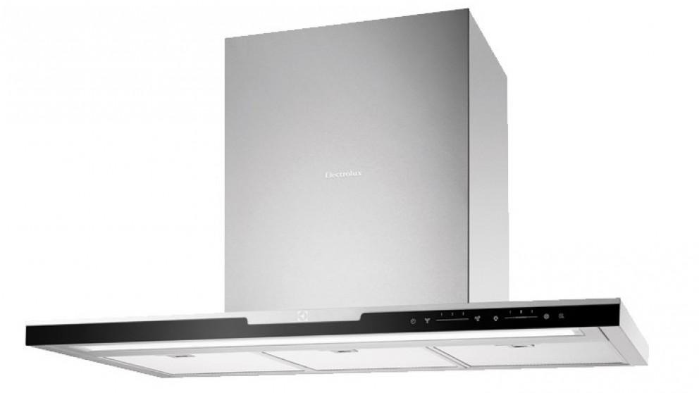 Electrolux 900mm Inspiration Canopy Rangehood - Black