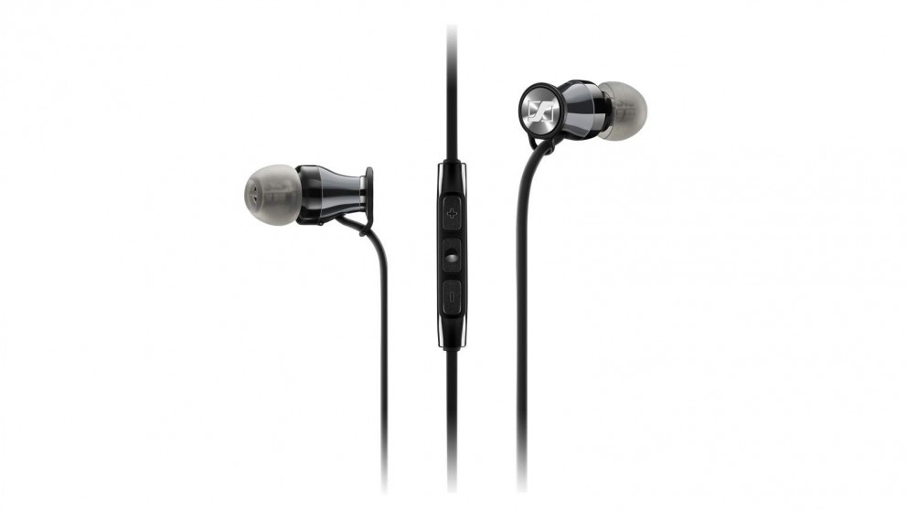 Sennheiser Momentum In-Ear Headphone - iOS, Black Chrome