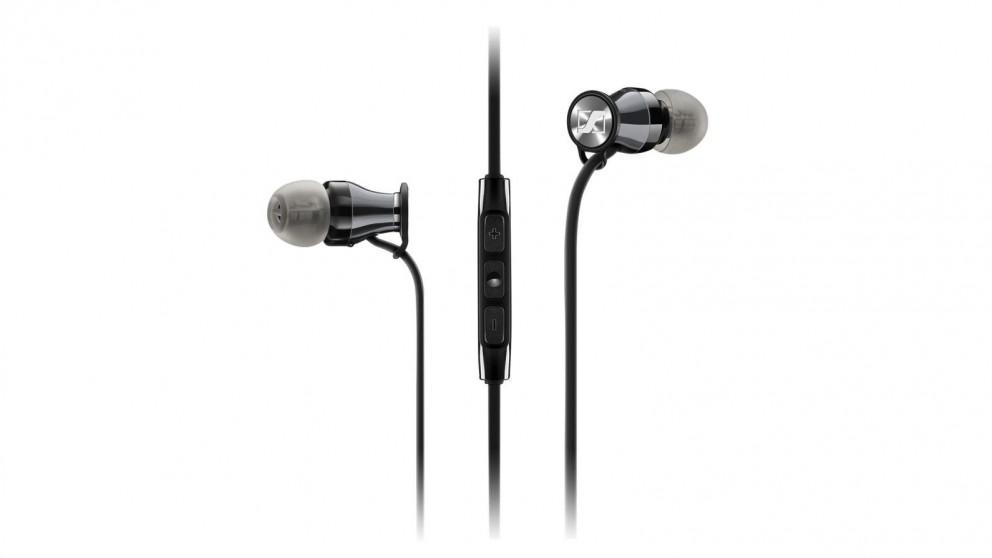 Sennheiser Momentum In-Ear Headphone - iOS, Black Chrome