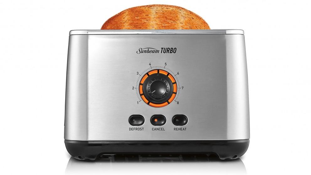 Sunbeam Turbo Toaster - Stainless Steel