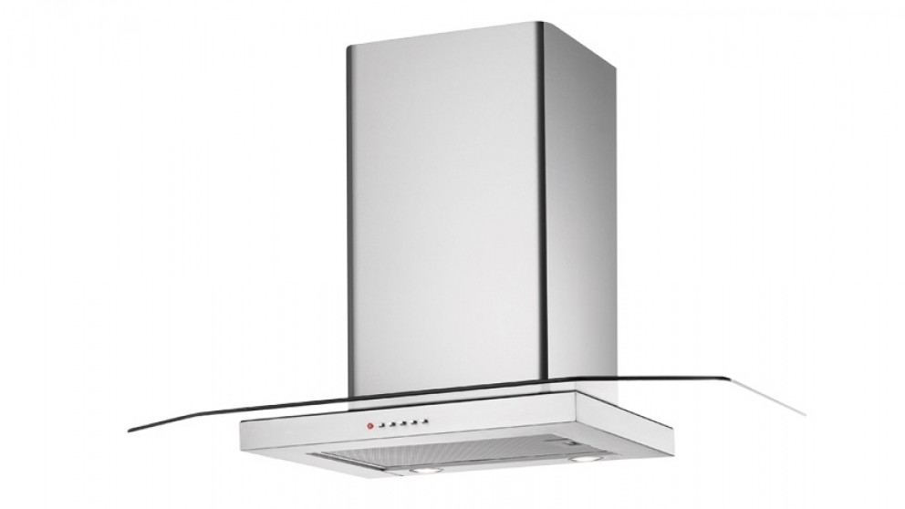 Chef 900mm Flat Glass and Stainless Steel Canopy Rangehood