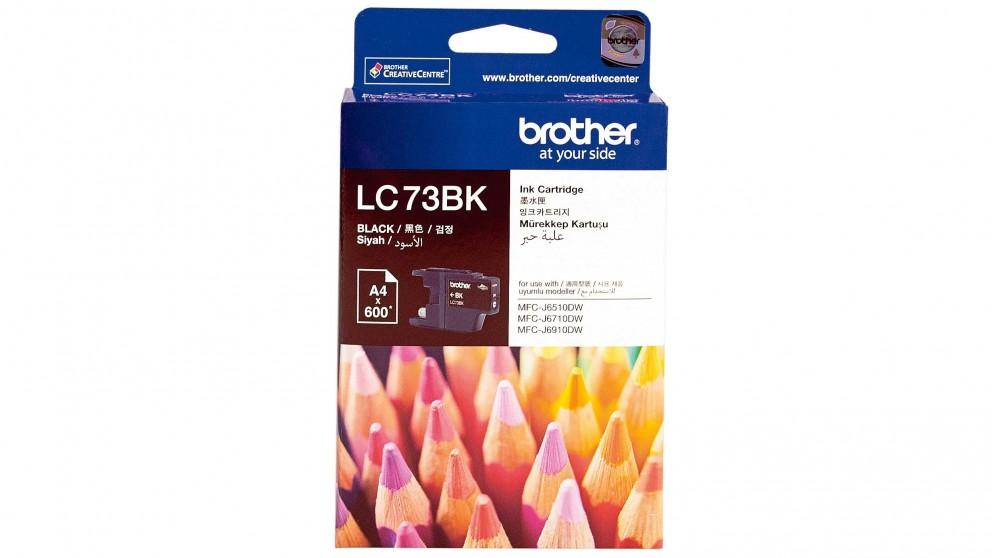 Brother LC-73BK Black Ink Cartridge