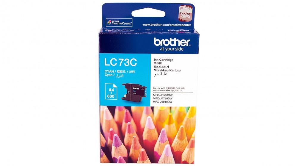 Brother LC-73C Cyan Ink Cartridge